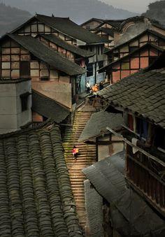 A Dreamy Village in Guizhou 蔡圣相---乡村光影