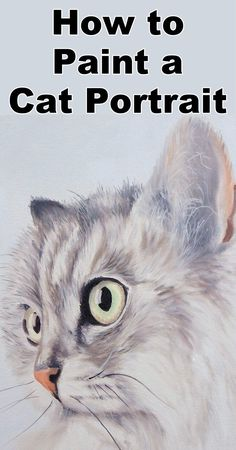 Learn how to paint a cat in this free oil painting online art class