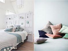 decoración dormitorios con terciopelo