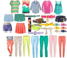 ideas for bright colored summer and spring clothes Spring Clothes, Spring Outfits, Retail Therapy, Summer Time, Bright, My Style, Cute, Outfit Ideas, Bows