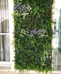 Garden Privacy, Privacy Screen Outdoor, Garden Trellis, Balcony Garden, Garden Planters, Garden Landscaping, Jardin Vertical Artificial, Artificial Green Wall, Patio Tropical