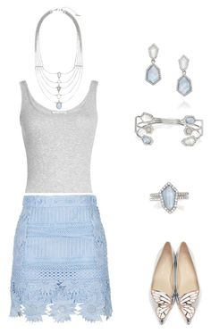 """Chloe and Isabel"" by emagirl819 on Polyvore featuring Vince, Sophia Webster and Chloe + Isabel"