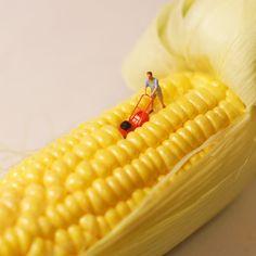 Artist Uses Food to Create Miniature Worlds #FWx