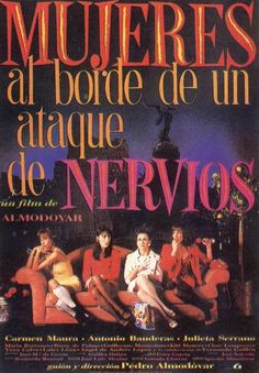 One of the best of Almodovar. Great comedy
