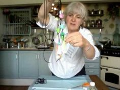 ▶ Series 1 - part 24 - Making papier-mache beads - 4 - YouTube