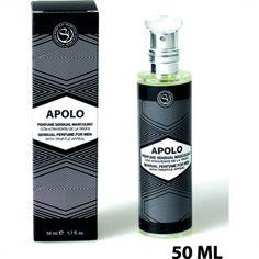 Erofactor te presenta:SECRET PLAY APOLO PERFUME DE HOMBRE CON FEROMONASCon atrayente sexual de la trufa.Fragancia más duradera.Botella de cristal frances con spray - Fácil Aplicación.Nuestra fragancia más viril con notas amaderadas.No mezclar con ningún otro perfume. Producto cosmético de uso externo.Envase de 50 ml.
