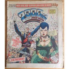 2000 AD #393 November 1984 UK Paper Sci Fi Comic