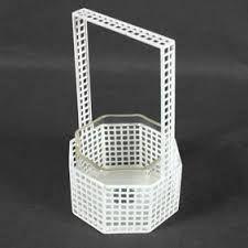 Josef Hoffmann Wiener Werkstatte Basket Glass