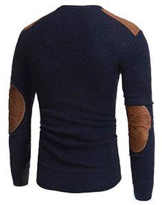Tralounry Men Fit Fall Winter Faux Suede Big & Tall Knitting Blouse T-Shirt Tops Big & Tall, Fall Winter, Men Sweater, Knitting, Blouse, Fitness, Womens Fashion, Sweaters, T Shirt