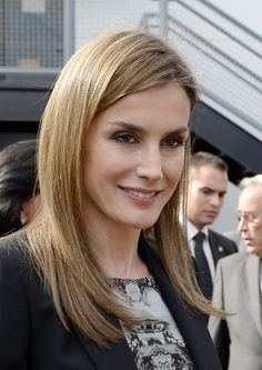 Spanish Royals Visit the Getty House