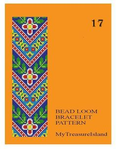 For sale are Bead Loom Vintage Motif 17, Bead Loom Vintage Motif 19, Bead Loom Vintage Motif 20 and 20A Multi-Color Bracelets Patterns in PDF format. Price for any 1 pattern is 5.00$. Please, let me know the Pattern number if ordering. I will e-mail you the PDF file within 24 – 48 hours of cleared payment, usually sooner. Buy more that 1 pattern and save. For all these designs I used Miyuki Delica seed beads in size 11. By using the full Delica beads samples set I selected the colors of…