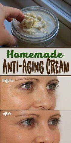 Homemade Anti-Aging Cream More