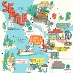 So many great ideas on this list!  A Splendid Long Weekend in Seattle - WSJ