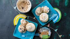Recipe: Ben and Jerry's vegan coconut seven layer bar cupcakes.