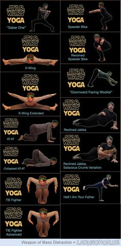 Star Wars Yoga - star wars,yoga