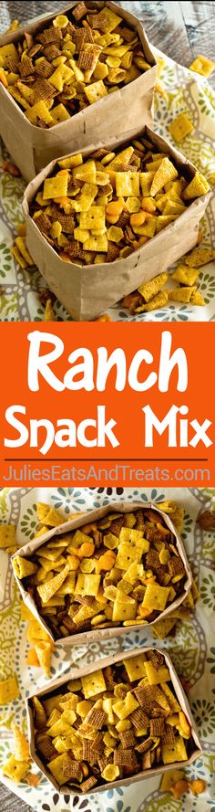 Ranch Snack Mix Reci