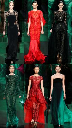 Monique Lhuillier Fall 2013 Collection   Tom & Lorenzo