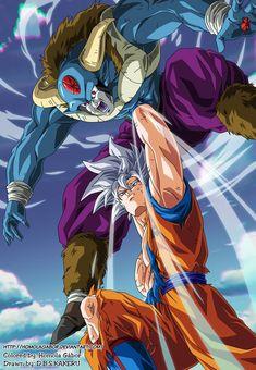 Goku Ultra Instinct vs Moro by HomolaGabor on DeviantArt