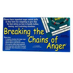 Breaking the Chains of Anger® is an educational board game designed to teach…