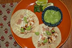 Spicy Fish Tacos with Avocado-Yogurt Sauce SO GOOD!!!!