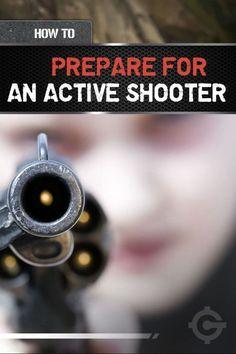 Active Shooter Training - How to Survive a Gun Attack | Gun Techniques For Self Defense by Gun Carrier http://guncarrier.com/active-shooter-training-how-to-survive-a-gun-attack/