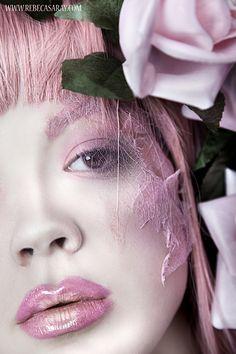 Fantasy Beauty by Rebeca Saray Gude, via Behance