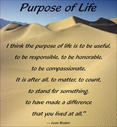 life's purpose quotes - Google Search