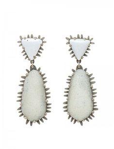 Salt Lake Enamelled Earrings