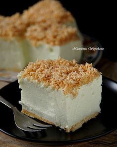 Nastoletnie Wypiekanie: Ciasto Śnieżny puch Polish Desserts, Polish Recipes, Cookie Desserts, No Bake Desserts, Delicious Deserts, Yummy Food, Cheesecake, Recipes From Heaven, Dessert For Dinner