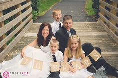 Picture of my family taken on our Ten Year Anniversary by Krystal Culpepper with Sweet Pea Studios in Virginia. This was inspired by a beautiful picture I found on Pinterest of a couple taken for their ten year anniversary dressed in their wedding garments with their children.