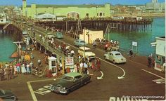 west end of the Santa Monica Pier, when you could drive all the way out to the end and turn around. You could still do that in the early when I got my first car! Santa Monica, San Luis Obispo County, San Fernando Valley, California History, Ocean Park, Pacific Palisades, Tourist Trap, City Of Angels, San Diego