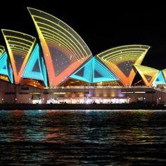 Vivid Festival, Sydney Opera House, 2011