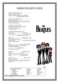 53 When Im 64 Party Ideas The Beatles Beatles Lyrics Beatles Party