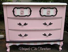 Love this girly dresser!