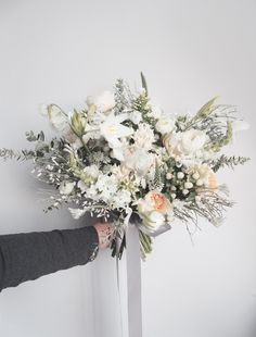 sophiasbleach #weddingbouquet #bridalbouquet #flowers #white #green
