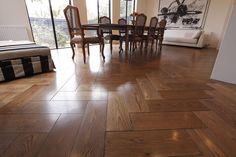 Oak Flooring have admirably served homes with beauty and durability in kitchens, bathrooms, and more. Available in countless combinations of colors, textures and pattern.