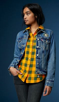 Shop men's MLB® apparel at Levi's® including western shirts, sweatshirts and trucker jackets. Browse our collection of baseball clothes at Levi's®. Mlb Jackets, Outerwear Jackets, Western Shirts, S Girls, Shirt Jacket, Man Shop, Sweatshirts, Oakland Athletics, Clothes