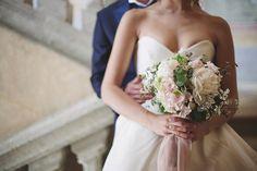 Pretty pink Italian wedding inspiration byTiziana Gallo // www.onefabday.com