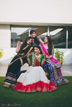 Real Indian Weddings: This Gujarati Couple Will Steal Your Heart With Their Charming Innocence (Here: The Wedding Day, w/ bridesmaids)