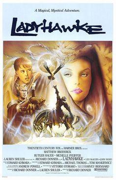 Ladyhawke Movie Poster #2 (O Feitiço de Áquila)