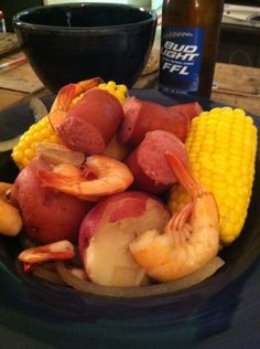 Low Country Boil....IN A CROCKPOT! Ahhhh! This may end up being my favorite Crockpot meal :)