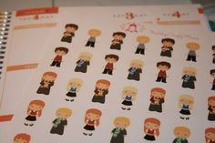 Magical Wizard Stickers for Plum Paper Erin by ThisVeryCraftyMama