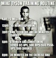 Best Picture For Boxing Training quotes For Your Taste You are looking for something, and it is going to tell you exactly what you are looking for, and you Boxer Workout, Boxing Training Workout, Mma Workout, Weight Training Workouts, Gym Workout Tips, Workout Challenge, Boxing Gym, Mike Tyson Workout, Mike Tyson Training