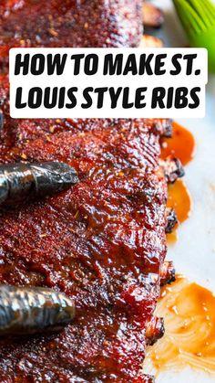Pork Rib Recipes, Healthy Meat Recipes, Smoked Meat Recipes, Grilled Steak Recipes, Bacon Recipes, Grilled Food, Grilled Asparagus, Jam Recipes, Grilled Chicken