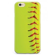 Give your iPhone 6 Plus & 6s Plus cell phone a unique style all its own. This Softball Texture Case was professionally created and printed in the United States for all you softball fans out there! Textured printing raises parts of the images, creating a unique feel like no other case.  The case features high-quality, original design and images that not only set you apart, but keep your device protected - making it the perfect iPhone 6 Plus & 6s Plus accessory!