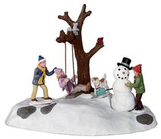 Swing Time - lemax, swing, size, batteries, christmas, ... - The Christmas Hut