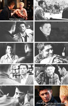 You want to know the secret to living a long and happy life? #spn #destiel