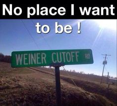 No place I want to be!