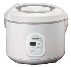 Aroma ARC-838TC 8-Cup (Uncooked), 16-Cup (Cooked) Digital Rice Cooker and Food Steamer, White,$45.98