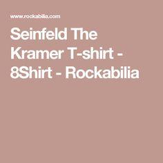 Seinfeld The Kramer T-shirt - 8Shirt - Rockabilia
